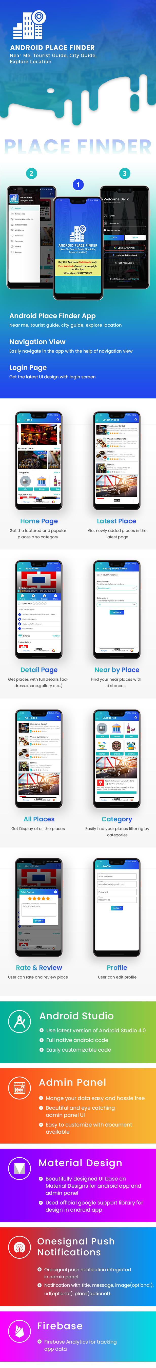 Android Place Finder (Dekat Saya, Pemandu Wisata, Pemandu Kota, Jelajahi Lokasi, Admob dengan GDPR) - 7